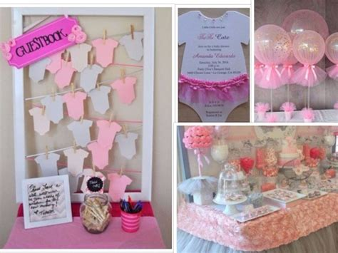 are you planning a baby shower for girls here some great ideas youtube
