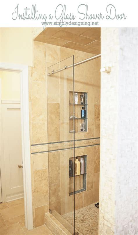 how to install a shower door how to install a new shower door