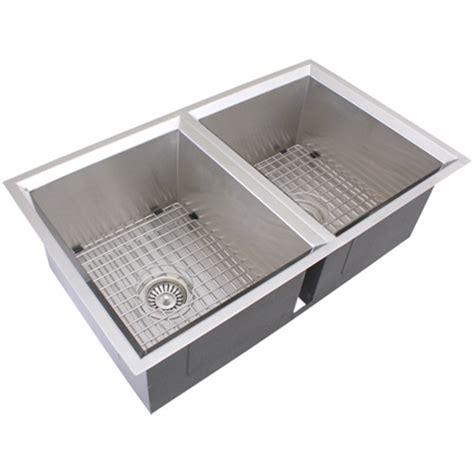 stainless kitchen accessories ticor s308 undermount 16 stainless steel kitchen 2464