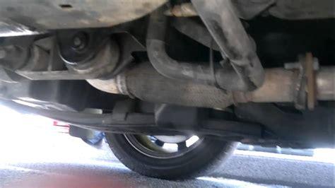 rear  mount  exhaust flexi pipe movement mondeo
