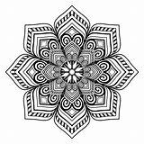 Coloring Money Adult Mandala Instant sketch template