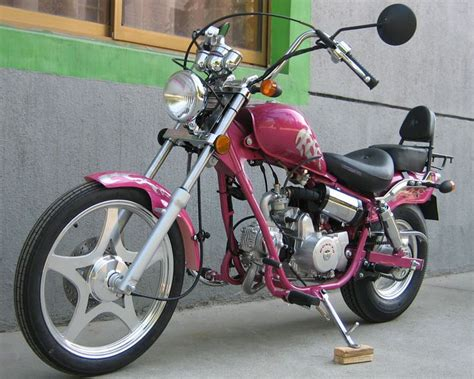 Motorcycle Chopper Pinkmini
