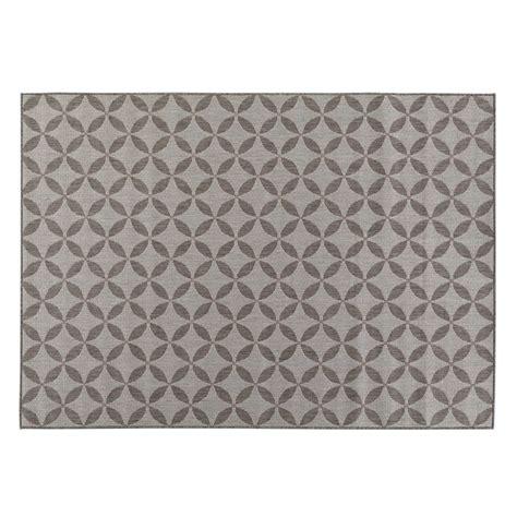 grey rug 5x7 ottomanson jardin collection contemporary design gray