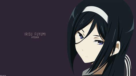 Wallpaper 1920x1080 Px Anime Girls Hyouka Irisu Fuyumi 1920x1080 Wallbase 1241653 Hd