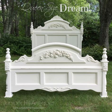 shabby chic beds queen size shabby chic bed restored and painted pretty gf milk paint inspiration board