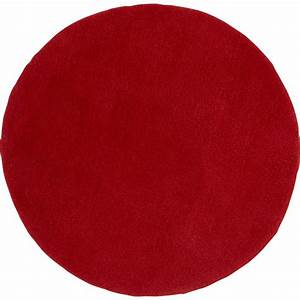 tapis rouge rond rouge diam700 mm leroy merlin With tapis rouge rond