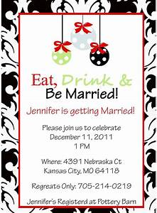 16 best images about bridal shower invitations on With christmas wedding shower ideas