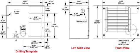1200 btu h indoor air conditioner dts series hammond mfg