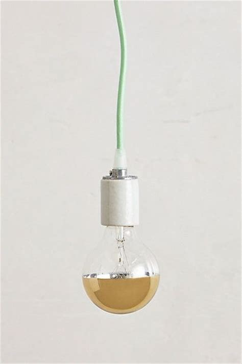 half gold light bulb gold dipped home and pendants
