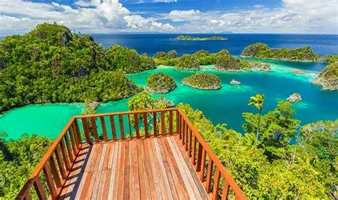 info lokasi wisata raja ampat  papua  eksotis info