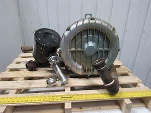 Gast R6p355a 5 5hp 3500rpm 208 460v Regenerative