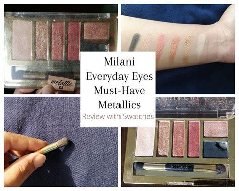 milani everyday eyes metallics review