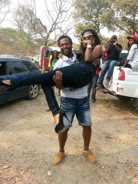Big Brother The Chase Photos Selly In Zambia Having Fun