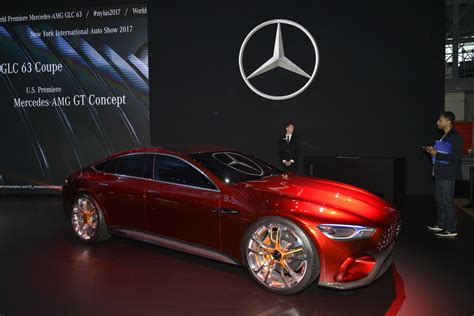 Mercedes Amg Gt Concept Premieres Exclusively In North