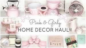 Pink Home Decor & Essentials Haul!! ♡ HomeGoods, TJ Maxx