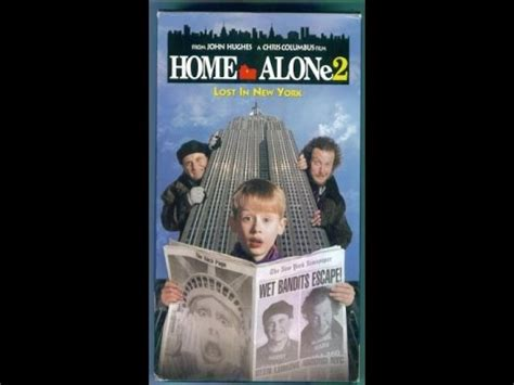 Opening To Home Alone 2 Lost In New York 1993 Vhs [true Hq] Youtube
