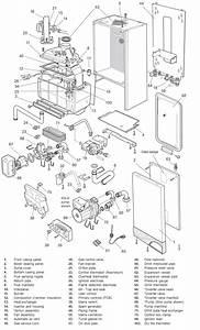 Boiler Parts  Vaillant Boiler Parts Diagram