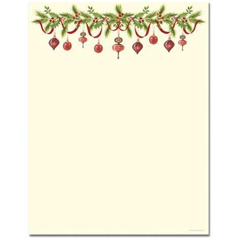 printable christmas borders  template