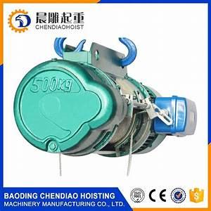 China Hoist Manufacturer 3 Phase Motor 1 Ton Electric