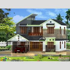 5 Bhk House Design In 2000 Sqft  Kerala Home Design And