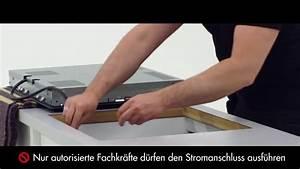 Kochfeld Einbauen Arbeitsplatte : progress montage induktionskochfeld i erh ltlich bei moebelplus youtube ~ Markanthonyermac.com Haus und Dekorationen