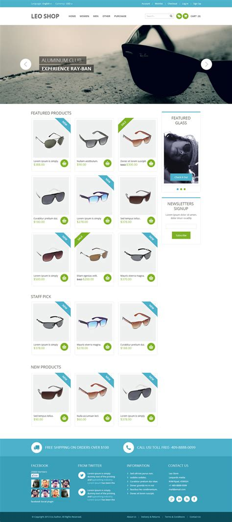 online shop psd website template bypeople