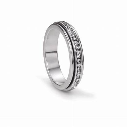 Meditation Ring Rings Lunar Sterling Spinner Meditationrings