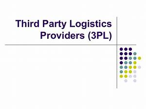 Third Party logistics ( 3PL ) and fourth Party logistics (4PL) - cquential