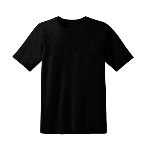 Tshirt Template Png by Blank Black T Shirt Png Www Pixshark Images