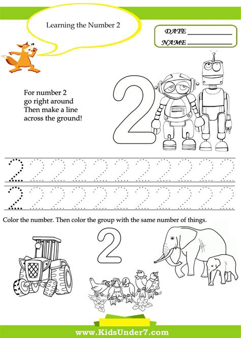 learning activities for toddlers printable worksheet