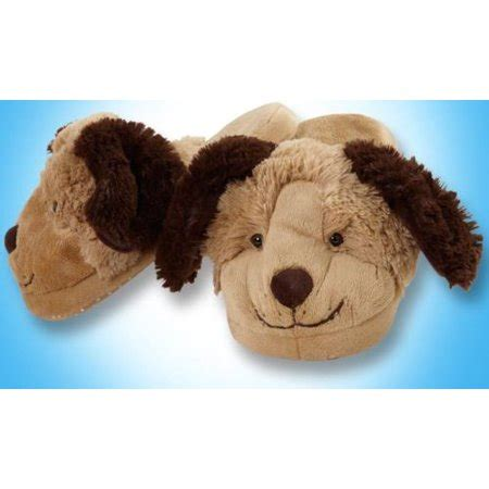 small pillow pets my pillow pets 174 brand brown size small slippers