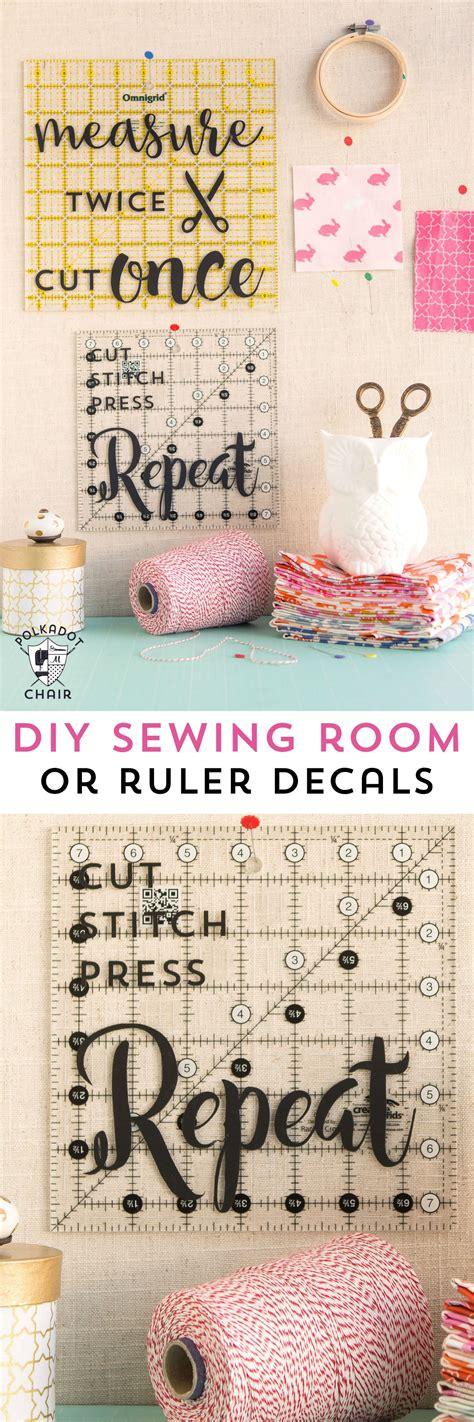 diy sewing room decor ideas   cricut cut files