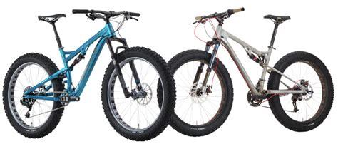 Salsa Bucksaw Full Suspension Fat Bike Squishes Into