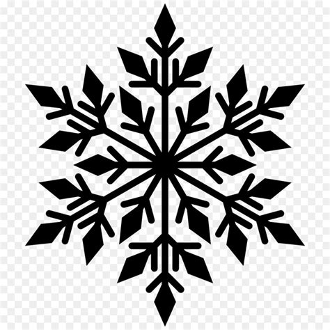 Transparent Background Snowflake Silhouette Snowflake Clip by Free Snowflake Clipart Transparent Background