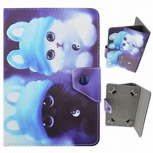 Tablette 2 En 1 Pas Cher : coque universal pour 7 pouce tablette moonmini chats ~ Dailycaller-alerts.com Idées de Décoration