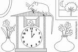 Hickory Dock Dickory Coloring Rhymes Nursery Enchantedlearning Dickery Clock Mouse Preschool Ran Hickery Activities Printouts Paint Printout Hickorydickory Shtml sketch template