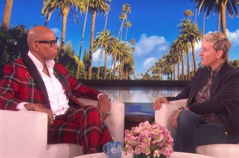 rupaul talks  ellen degeneres   star