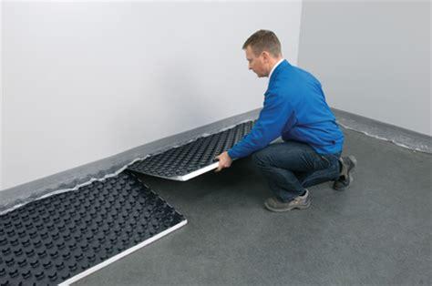 fußbodenheizung verlegen tackersystem noppensystem eine zwei verlegearten einer fu 223 bodenheizung