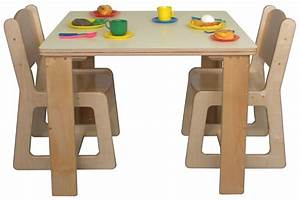 Preschool Table And Chair Set Marceladickcom, Wooden Kids