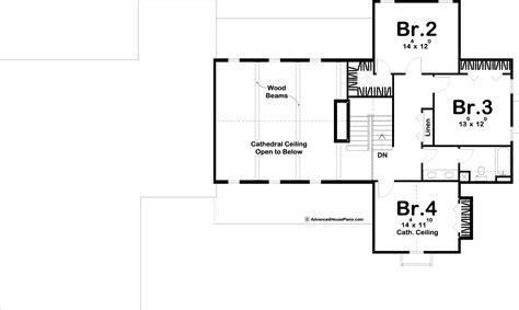story modern farmhouse plan rosewood