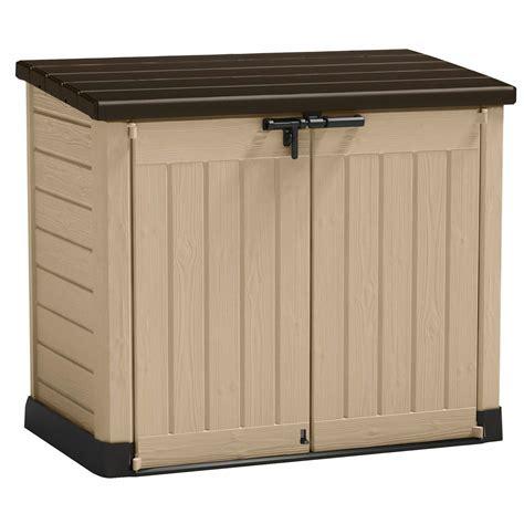Tepro Gartenmülltonnenbox Beige Kaufen Bei Obi
