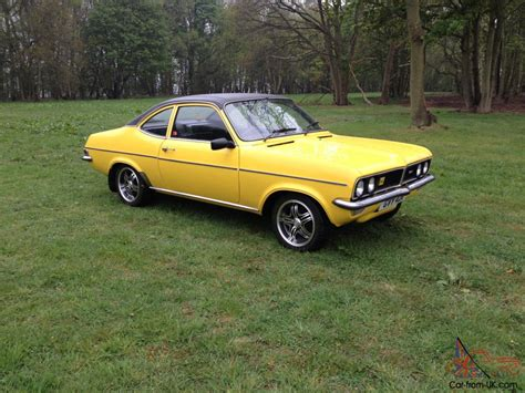vauxhall yellow 1975 vauxhall magnum 1800 yellow excellent condition