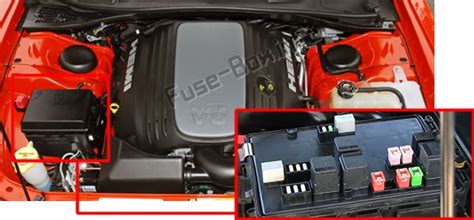2009 Challenger Fuse Box Diagram Trunk by Dodge Challenger 2009 2014