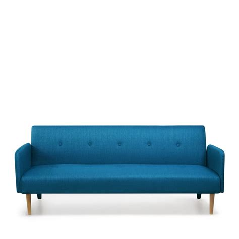 canape transformable canapé convertible scandinave niels bleu by drawer