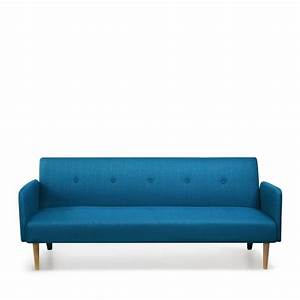 Canape bleu turquoise fashion designs for Canapé convertible scandinave pour noël decoration d interieur design