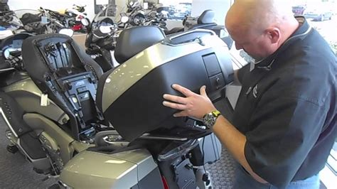 bmw kgtl top case removal instructions youtube