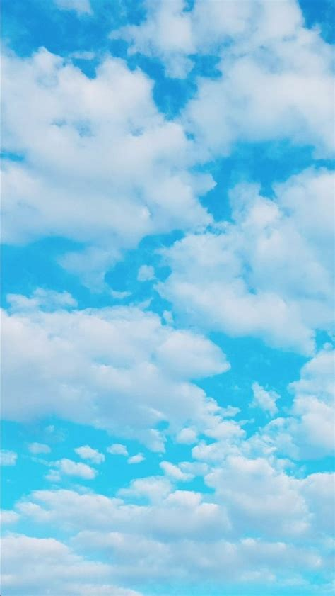 aesthetic baby blue wallpaper iphone