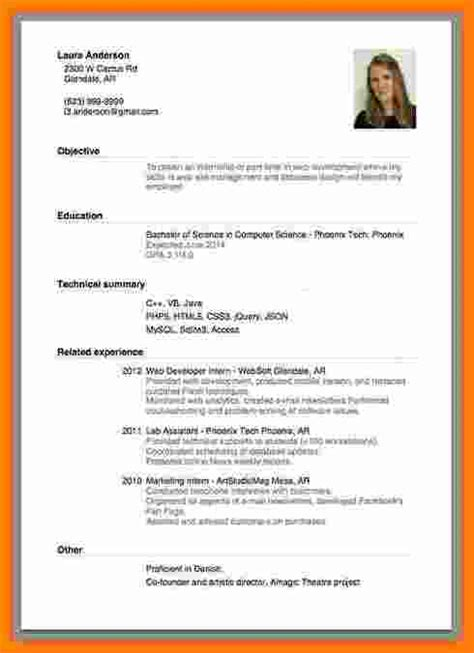 Employment Cv Template by 6 Curriculum Vitae Exles For Theorynpractice