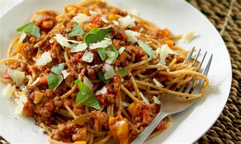 spaghetti bolognese kcal spaghetti bolognese diabetes uk