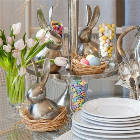 idee decoration table pour paques